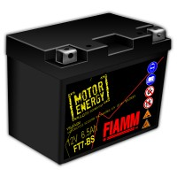 Fiamm Motor Energy AGM Technology FT7-BS 7904480 12V 6.5Ah L+
