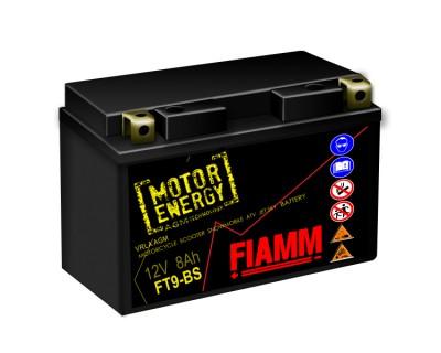 Fiamm Motor Energy AGM Technology FT9-BS 7904481 12V 8Ah L+ - фото 1