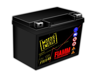Fiamm Motor Energy AGM Technology FTX12-BS 7904488 12V 10Ah L+ - фото 1