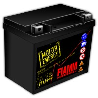 Fiamm Motor Energy AGM Technology FTX14-BS 7904489 12V 12Ah L+