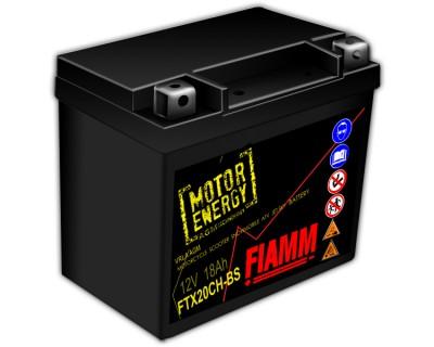 Fiamm Motor Energy AGM Technology FTX20CH-BS 7904493 12V 18Ah L+ - фото 1