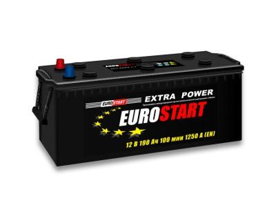 Westa EuroStart Extra Power (6 CT-190) 190Ah-1250Aen L+ - фото 1