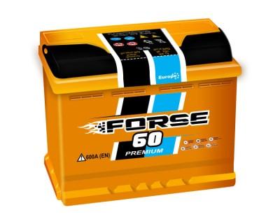 Westa Forse 60Ah 600Aen R+ - фото 1