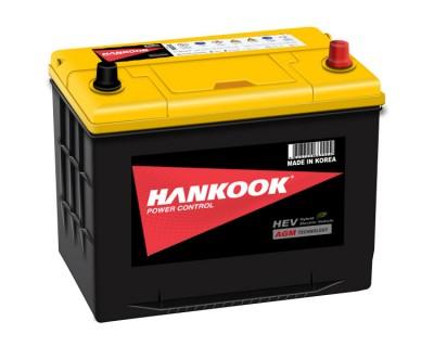 Hankook AGM AX S65D26L 6CT-75Ah-750A R+ - фото 1