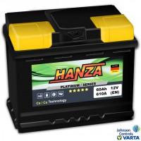 Hanza Platinum (6 CT-60) 60Ah-610Aen L+