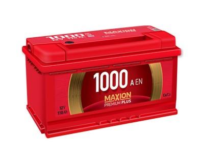 Maxion Premium Plus 6 CT-110Ah-1000Aen (0) R+ - фото 1
