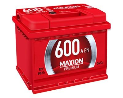 Maxion Premium 6 CT-60Ah-600Aen (1) L+ - фото 1