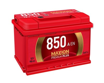 Maxion Premium Plus 6 CT-90Ah-850Aen (0) R+ - фото 1