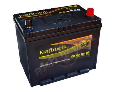 Kraftwerk Premium Asia 80D26L (6 CT-70) 70Ah-580Aen R+ - фото 1