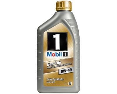 MOBIL 1 NEW LIFE 0W-40 1L - фото 1