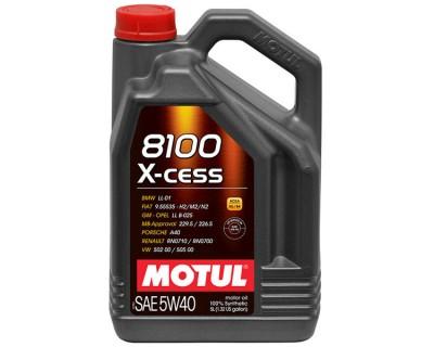 MOTUL 8100 X-CESS 5W-40 5L - фото 1