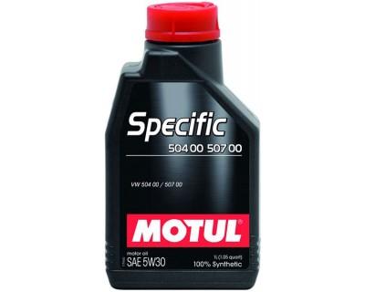 MOTUL SPECIFIC VW 504 00 507 00 5W-30 1L - фото 1