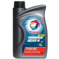 TOTAL TRANSMISSION GEAR 8 75W-80 1L
