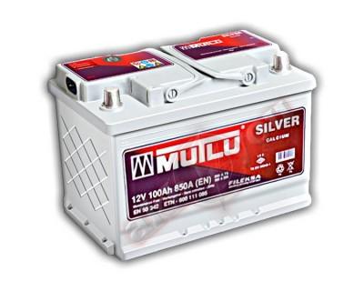 Mutlu Silver LS5-100A (6 CT-100) 100Ah-830Aen R+ - фото 1