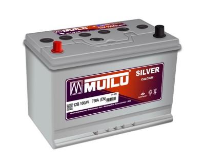 Mutlu Silver SD-100F 100Ah-850Aen L+ - фото 1