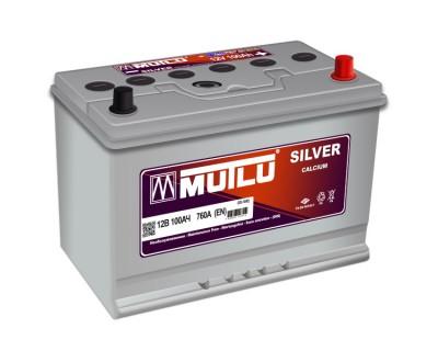Mutlu Silver SD-100E (6 CT-100) 100Ah-760Aen R+ - фото 1
