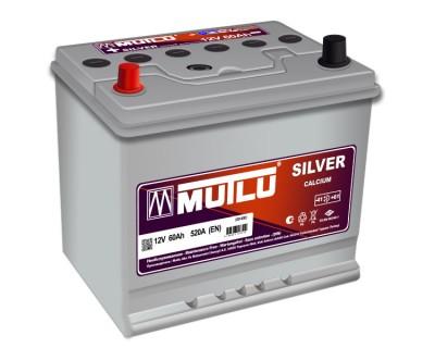 Mutlu Silver SD-60F 60Ah-520Aen L+ - фото 1