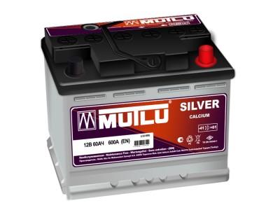 Mutlu Silver LS2-60B (6 CT-60) 60Ah-600Aen R+ - фото 1