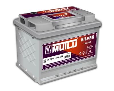 Mutlu Silver LS2-63A 63Ah-650Aen R+ - фото 1