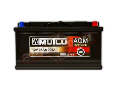 Mutlu AGM Technology (6 CT-95) 95Ah-900Aen R+ - фото 1