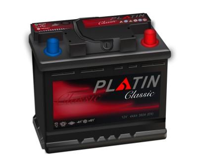 Platin Classic MF 6CT- 50Ah-420Aen R+ - фото 1