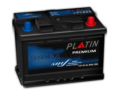 Platin Premium SMF (6CT-60) 60Ah-600Aen (h-175) R+ - фото 1