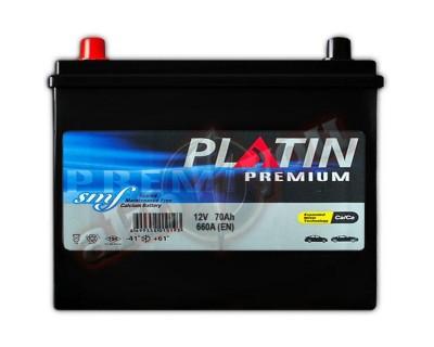 Platin Premium SMF (6CT-70) 70Ah-660Aen L+ - фото 1