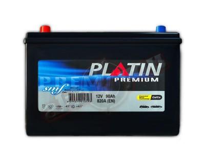 Platin Premium SMF (6CT-90) 90Ah-820Aen L+ - фото 1