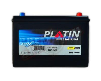 Platin Premium SMF (6CT-90) 90Ah-820Aen R+ - фото 1