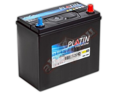Platin Premium SMF (6CT-45) 45Ah-400Aen R+ - фото 1