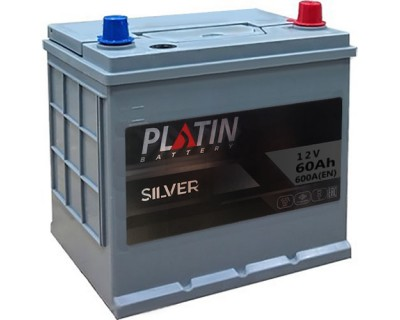 Platin Silver SMF D23 6CT-60Ah-600Aen (0) R+ - фото 1