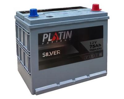 Platin Silver SMF 80D26L 6CT-75Ah-750Aen (0) R+ - фото 1