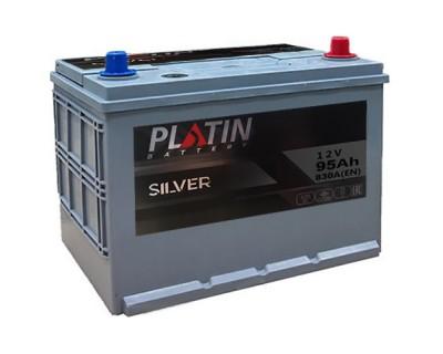 Platin Silver SMF 115D31L 6CT-95Ah-830Aen (0) R+ - фото 1
