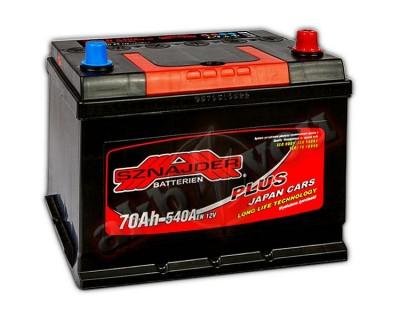 Sznajder Plus Japan 570 29 (6 CT-70) 70Ah-540Aen R+ - фото 1