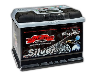 Sznajder Silver (6 CT-65) 65Ah-540Aen R+ - фото 1