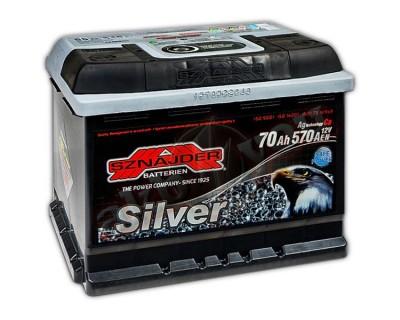 Sznajder Silver 570 25 (6 CT-70) 70Ah-570Aen R+ - фото 1
