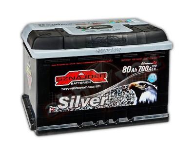 Sznajder Silver 580 25 (6 CT-80) 80Ah-700Aen R+ - фото 1