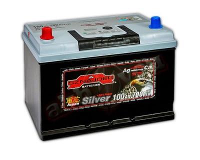 Sznajder Silver Japan 600 72 (6 CT-100) 100Ah-700Aen L+ - фото 1