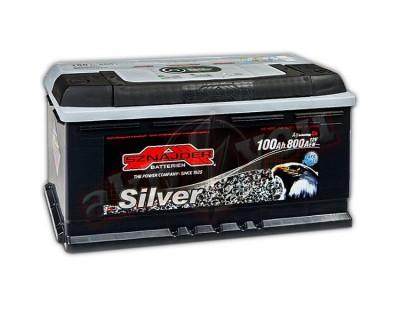 Sznajder Silver (6 CT-100) 100Ah-800Aen R+ - фото 1