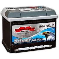 Sznajder Silver Premium (6 CT-64) 64Ah-600Aen R+ (h-175)
