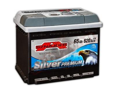 Sznajder Silver Premium (6 CT-65) 65Ah-620Aen L+ - фото 1