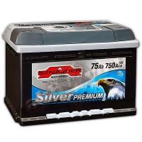 Sznajder Silver Premium (6 CT-75) 75Ah-750Aen R+ (h-175)