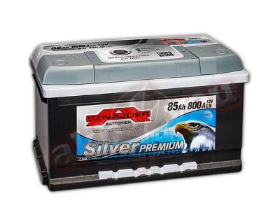 Sznajder Silver Premium (6 CT-85) 85Ah-800Aen R+ (h-175) - фото 1