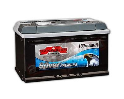 Sznajder Silver Premium (6 CT-100) 100Ah-900Aen R+ - фото 1