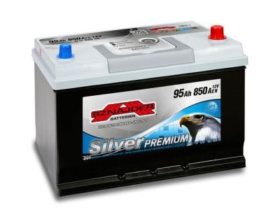 Sznajder Silver Premium JIS (6 CT-95) 95Ah-850Aen R+ - фото 1