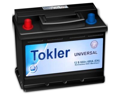 Tokler Universal (6 CT-60) 60Ah-480Aen L+ - фото 1