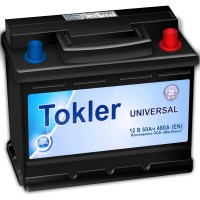Tokler Universal (6 CT-60) 60Ah-480Aen R+