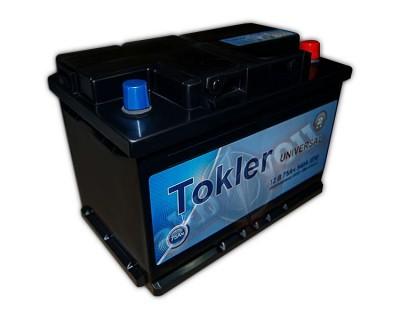 Tokler Universal (6 CT-75) 75Ah-540Aen R+ - фото 1