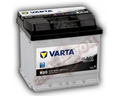 Varta Black Dynamic (B20) 545413040 (6 CT-45) 45Ah-400Aen L+ - фото 1