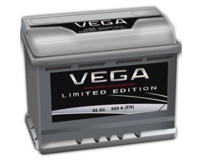 Vega 60Ah-600Aen h-175 R+ - фото 1